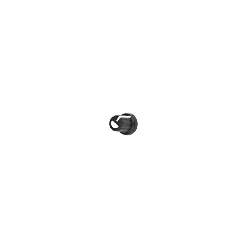 Plastic Knob - white pointer