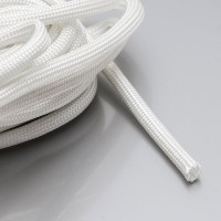 High Temperature fiberglass insulation sleeve 600°C Xenon flash lamp