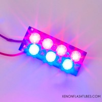 12v LED RED-BLUE Strobe board for Warning lights - flash llight warning beacon module PCB