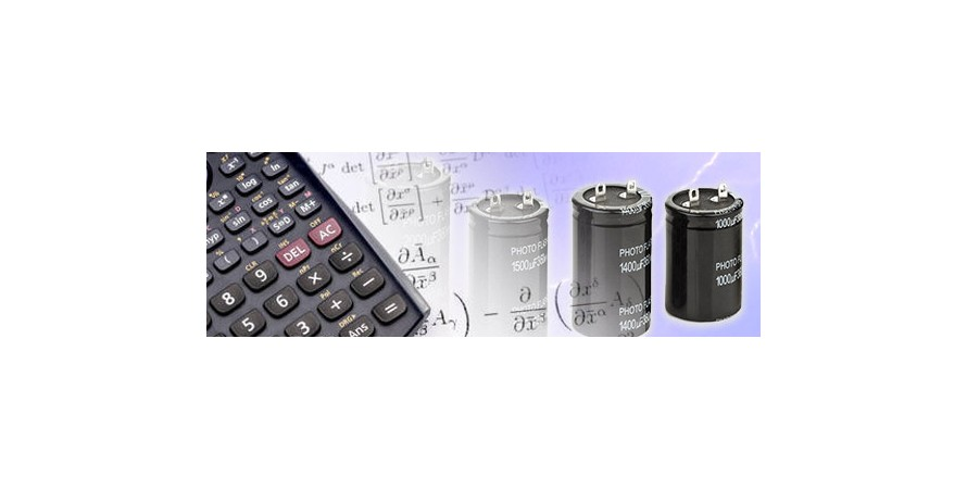 Capacitor Energy Calculator