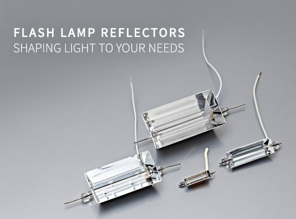 Flash Lamp Reflectors