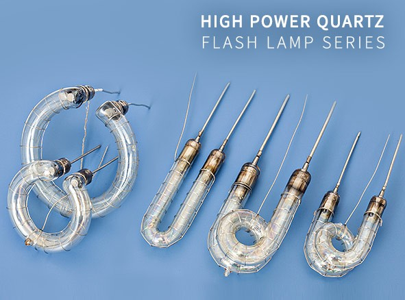 High Power Flash Tube Lamps